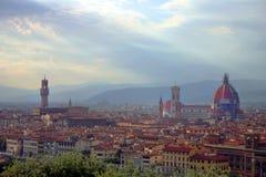 佛罗伦萨视图 库存图片