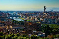 佛罗伦萨视图  免版税库存图片