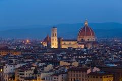 佛罗伦萨视图 库存照片