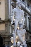 佛罗伦萨赫拉克勒斯雕塑 免版税图库摄影
