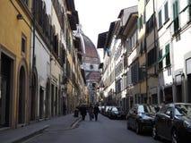 佛罗伦萨路 免版税库存图片