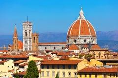 佛罗伦萨都市风景 免版税图库摄影
