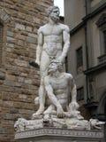 佛罗伦萨雕象 免版税库存图片