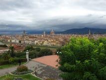 佛罗伦萨顶看法  库存图片