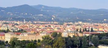 佛罗伦萨鸟瞰图 图库摄影