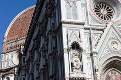 佛罗伦萨,历史中心 库存图片