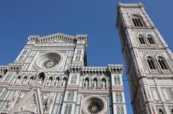 佛罗伦萨,大教堂二圣塔玛丽亚del Fiore 免版税库存照片