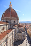 佛罗伦萨,意大利中央寺院 免版税库存照片