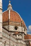 佛罗伦萨,意大利,佛罗伦萨,意大利,佛罗伦萨大教堂, Brunnaleski圆顶,都市风景fr Brunnaleski圆顶,从Giotto塔的都市风景 免版税库存图片