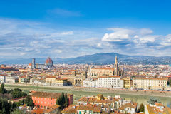 佛罗伦萨,意大利,托斯卡纳 免版税库存照片