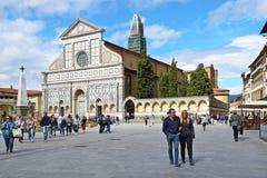 佛罗伦萨,意大利- 2017年9月19日:圣玛丽亚中篇小说 免版税库存照片
