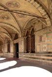 佛罗伦萨,意大利- 2017年9月19日:绿色修道院在佛罗伦萨 免版税库存图片