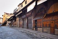 佛罗伦萨,意大利- 2017年9月17日:Pon清早视图  图库摄影