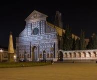 佛罗伦萨,意大利- 2017年10月18日-正方形的游人在f 免版税图库摄影