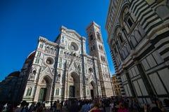 佛罗伦萨,意大利- 2017年10月 cathedral del fiore佛罗伦萨意大利玛丽亚・圣诞&#32769 旅游目的点 库存图片