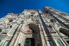 佛罗伦萨,意大利- 2017年10月 cathedral del fiore佛罗伦萨意大利玛丽亚・圣诞&#32769 旅游目的点 免版税库存图片