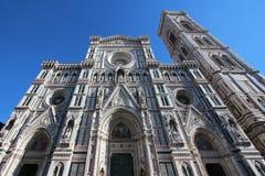 佛罗伦萨,意大利- 2015年11月:三塔Croce大教堂,世界遗产 免版税图库摄影