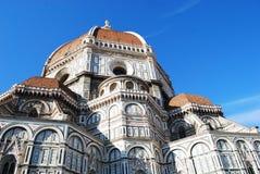 佛罗伦萨,意大利- 2015年11月:Brunelleschi圆顶,世界遗产,细节 免版税库存图片