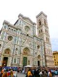 佛罗伦萨,意大利- 2014年5月01日:圣玛丽亚del菲奥雷大教堂在佛罗伦萨,意大利 图库摄影