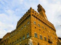 佛罗伦萨,意大利- 2014年5月01日:Palazzo Vecchio是城镇厅 免版税库存照片