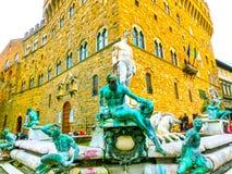 佛罗伦萨,意大利- 2014年5月01日:Palazzo Vecchio是城镇厅 免版税图库摄影