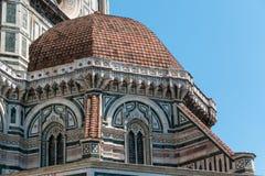 佛罗伦萨,托斯卡纳圆顶  免版税库存图片