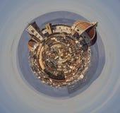 佛罗伦萨,托斯卡纳,意大利中央寺院一个小的行星的 免版税库存图片