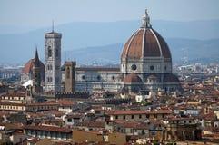 佛罗伦萨,托斯卡纳,意大利全景  免版税图库摄影