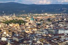 佛罗伦萨,托斯卡纳,意大利城市视图  图库摄影