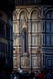 佛罗伦萨,托斯卡纳- 2011年4月09日- Cattedrale二圣玛丽亚d 免版税图库摄影