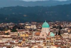 佛罗伦萨,伟大的犹太教堂 免版税库存照片