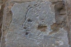 佛罗伦萨,米开朗基罗雕刻的神奇面孔 免版税库存图片