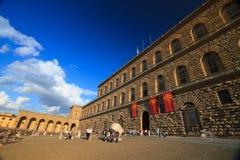 佛罗伦萨, Pitti宫殿 免版税库存照片