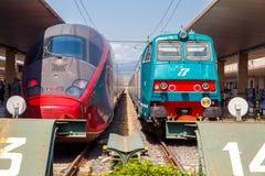 佛罗伦萨 火车站 免版税图库摄影