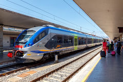 佛罗伦萨 火车站 免版税库存照片