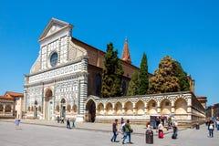 佛罗伦萨 玛丽亚中篇小说圣诞老人 免版税库存图片