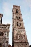 佛罗伦萨-著名方济会大教堂二三塔Croce 免版税库存图片