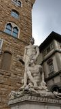 佛罗伦萨- Signoria广场 库存图片
