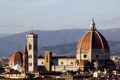 佛罗伦萨Dom在托斯卡纳,意大利 免版税库存图片