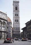 佛罗伦萨giotto 免版税库存照片