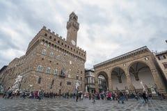佛罗伦萨Palazzo Vecchio 库存照片