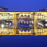 佛罗伦萨ponte vecchio 库存照片