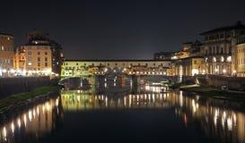 佛罗伦萨ponte vecchio 图库摄影