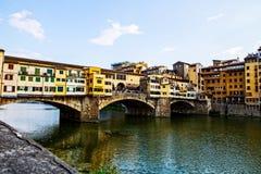 佛罗伦萨ponte vecchio 免版税图库摄影