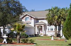 佛罗里达住宅 库存照片