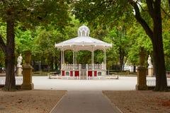 佛罗里达公园在vitoria城市 免版税库存图片
