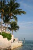 佛罗里达关键南部的西部 免版税库存照片