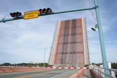 佛罗里达吊桥 免版税库存图片