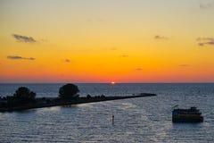 佛罗里达坦帕湾海滩 库存照片