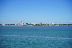 佛罗里达坦帕湾海滩 库存图片